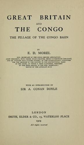 Download Great Britain and the Congo