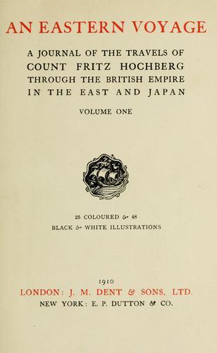 An eastern voyage.