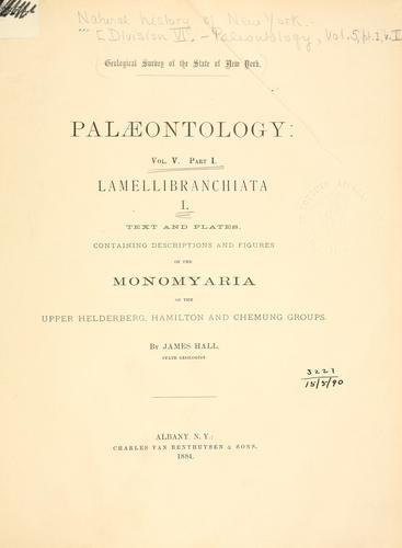 Download Palæontology of New York …