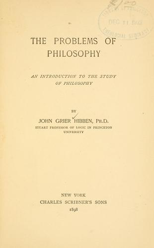 Download The problems of philosophy
