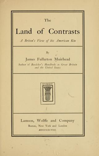 Download The land of contrasts