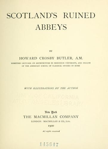 Scotland's ruined abbeys