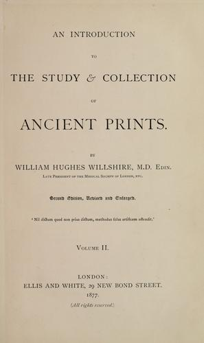 Download An introduction to the study & collection of ancient prints.