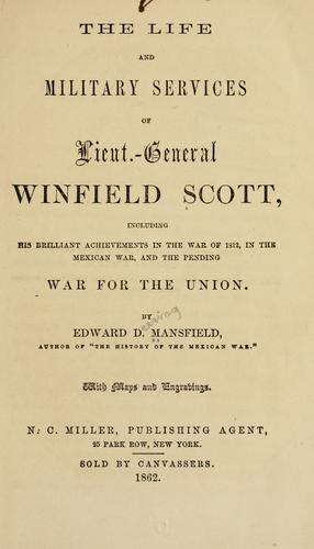 Download The life and military services of Lieut.-General Winfield Scott