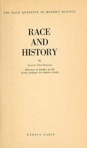 Download Race and history.