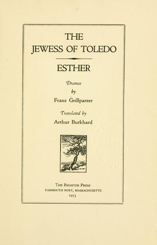 The Jewess of Toledo.
