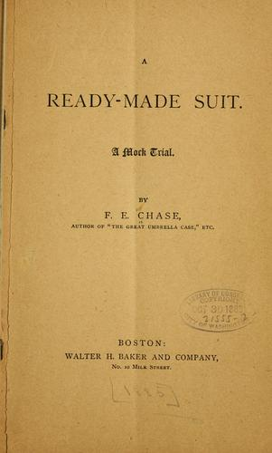 A ready-made suit.
