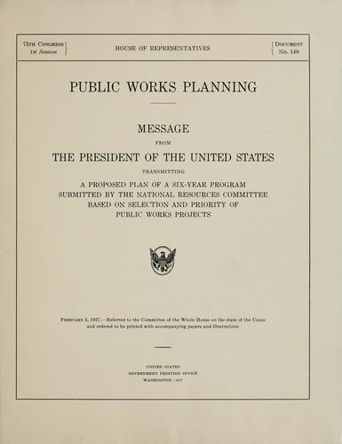 Download Public works planning.