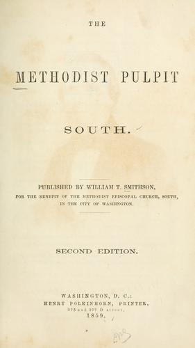 Download The Methodist pulpit, South.