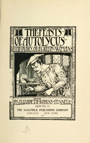 Download The feasts of Autolycus