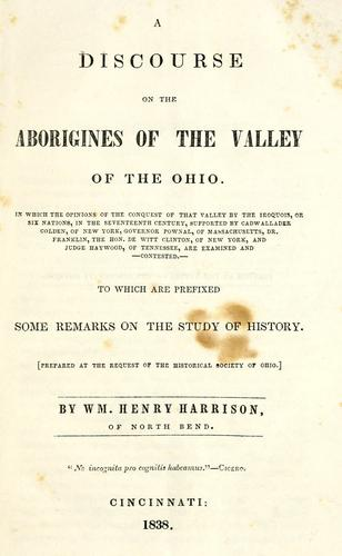 Download A discourse on the aborigines of the valley of the Ohio