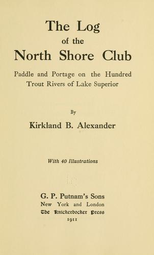Download The log of the North shore club
