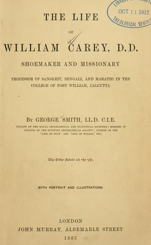 Download The life of William Carey, D.D.