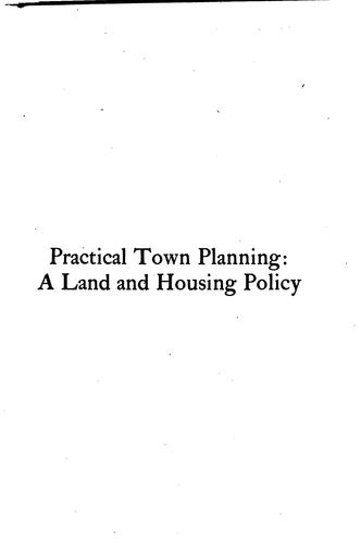 Practical town planning