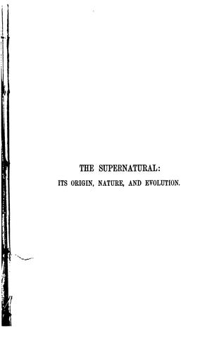 Download The supernatural