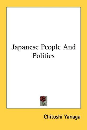 Download Japanese People And Politics