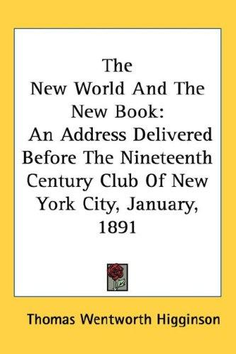 The New World And The New Book