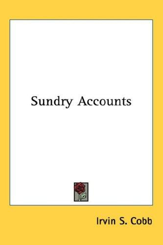 Download Sundry Accounts