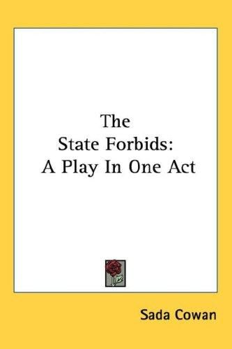 The State Forbids