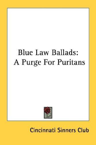 Blue Law Ballads