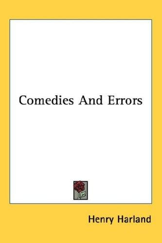 Comedies And Errors
