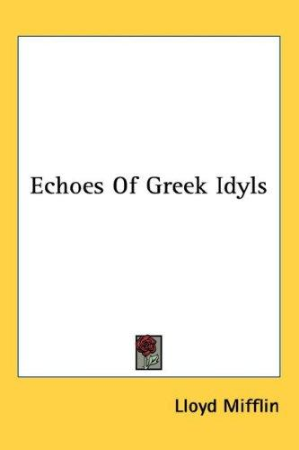 Echoes Of Greek Idyls