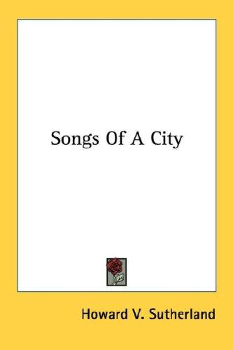 Songs Of A City