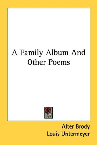 A Family Album And Other Poems