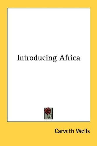 Download Introducing Africa