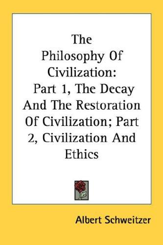 Download The Philosophy Of Civilization