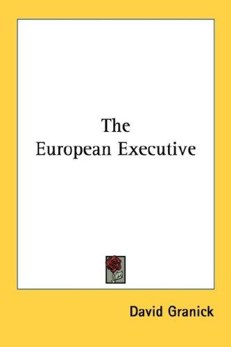 Download The European Executive