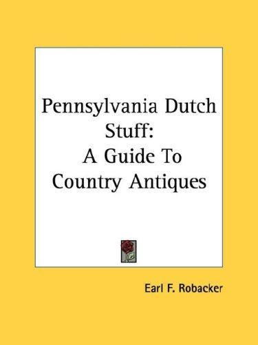 Pennsylvania Dutch Stuff