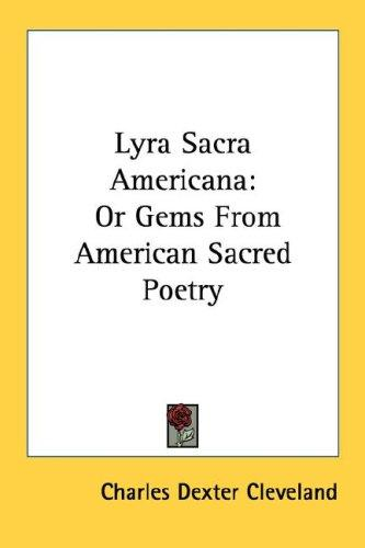 Lyra Sacra Americana