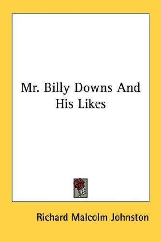 Download Mr. Billy Downs And His Likes