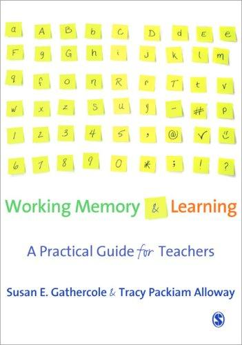 Download Working Memory and Learning