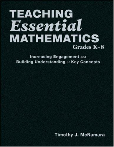 Download Teaching Essential Mathematics, Grades K-8