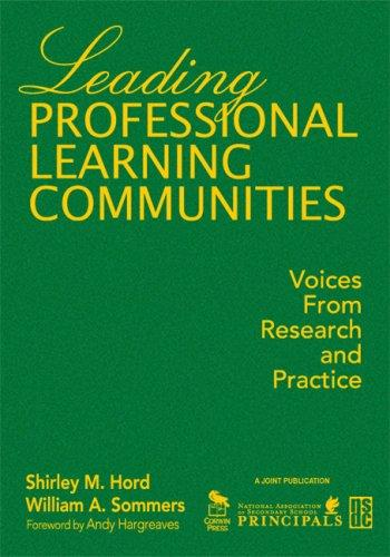 Download Leading Professional Learning Communities