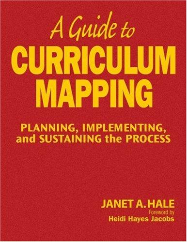 A Guide to Curriculum Mapping