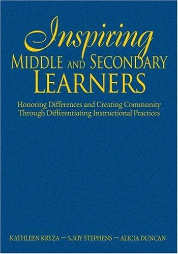 Download Inspiring Middle and Secondary Learners