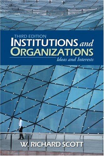 Download Institutions and Organizations