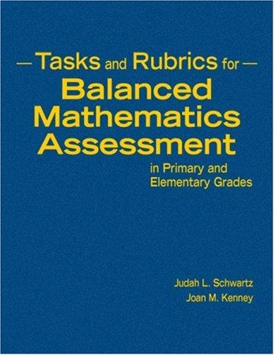 Download Tasks and Rubrics for Balanced Mathematics Assessment in Primary and Elementary Grades