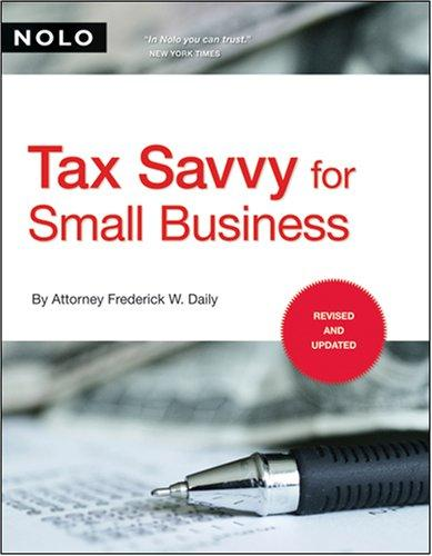 Download Tax Savvy for Small Business