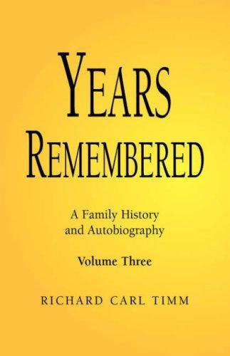 Download Years Remembered