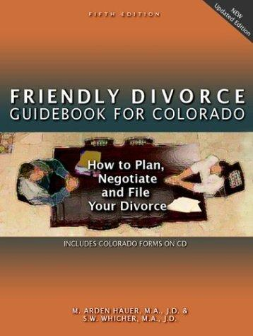Download Friendly divorce guidebook for Colorado
