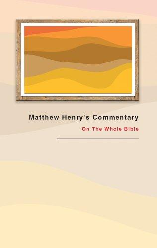 Download Matthew Henry's Commentary