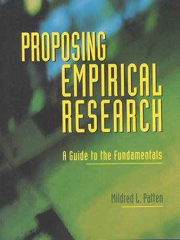 Download Proposing Empirical Research