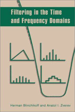 Filtering in the time and frequency domains