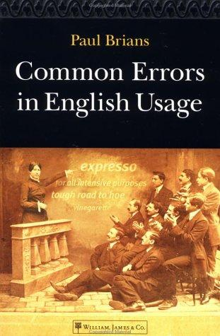Download Common errors in English usage