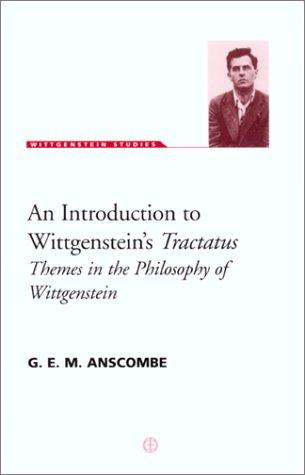 An introduction to Wittgenstein's Tractatus by Anscombe, G. E. M.