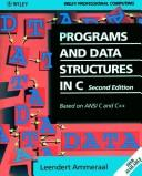 Download Programs and data structures in C
